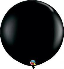 Balão Latex 3 Pés - Preto