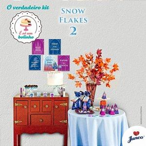Kit Festa Só Bolinho - Snow Flakes