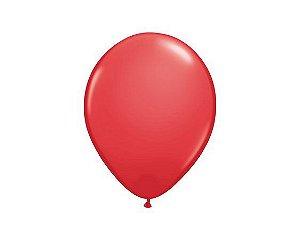 Balão Látex n° 9 - Vemelho - 50 Unidades