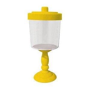 Baleiro Decorativo para Festa - 26 cm - Amarelo