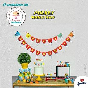 Kit Festa Só Bolinho - Pocket Monster