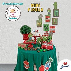Kit Festa Só Bolinho - Mini Pixel