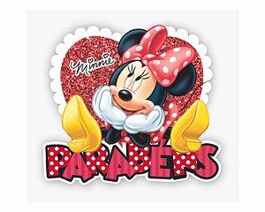 Painel Parabéns - Minnie