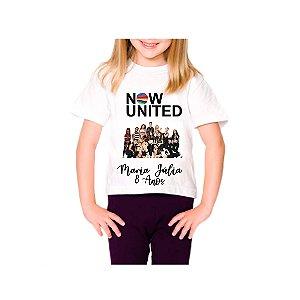 Camisa infantil - Now United
