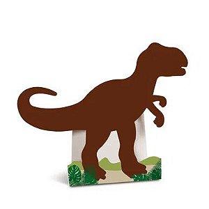 Silhueta Decorativa de Chão - Dinossauro