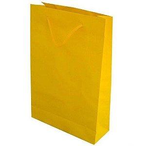 Sacola de Papel - 10 und - Amarelo