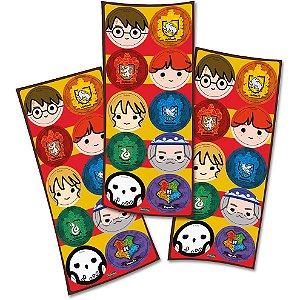 Adesivo Redondo - Harry Potter Kids - 30 und