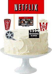 Topo de bolo personalizado - Beyblade