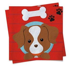Guardanapo de Papel - Festa Cachorrinhos - 20 unidades