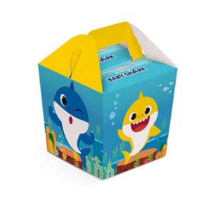 Caixa Para Lembrancinhas - Baby Shark - 08 unidades
