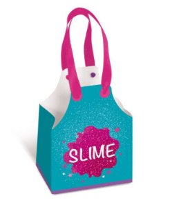 Caixa Para Lembrancinha - Festa Slime - 08 unidades