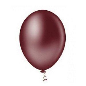 Balão Latex n°9 - Marsala - 50 und