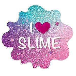 Painel Gigante - Festa Slime