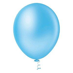 Balão Latex  nº9  - Azul claro - pic pic