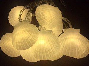 Varalzinho Decorativo Led - Concha