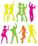 Kit Silhueta - Dance Neon