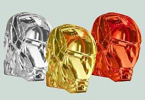 Decoração Plástica do Homem de Ferro - Vermelho