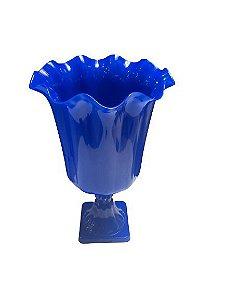 Vaso Grego Luxo de Plástico - Azul Escuro - Com Extensor