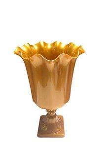 Vaso Grego Luxo de Plástico - Dourado - Com Extensor