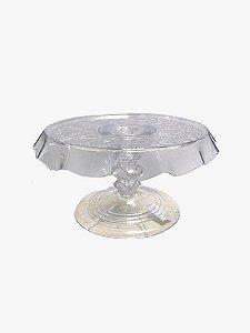 Boleira de Luxo - Transparente - 27cm