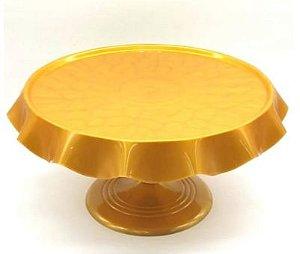 Boleira de Luxo - Dourada - 27cm
