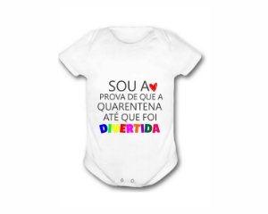 Body Personalizado - Quarentena divertida
