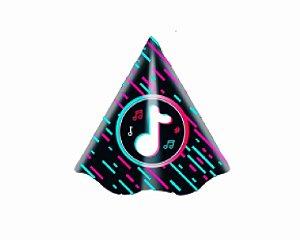 Chapéu de Aniversário -  Music Movie - 8 unidades