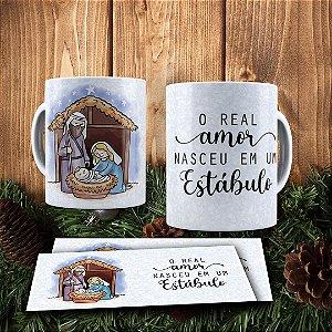 Caneca Cerâmica - O Verdadeiro Natal