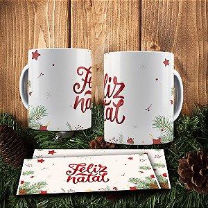 Caneca Cerâmica - Magia do Natal
