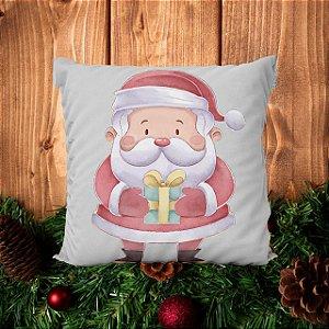 Almofada Presente do Papai Noel - 30 X 30cm