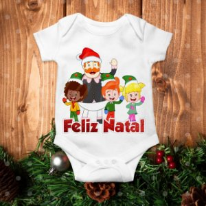 Body Especial de Natal do Mundo Bita