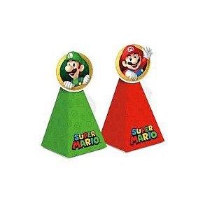 Caixa Lembrancinha Cone - Mario Bross