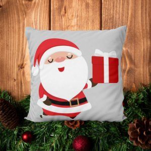 Almofada Papai Noel - 30 X 30cm