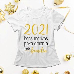 Camisa Personalizada - 2021 Motivos