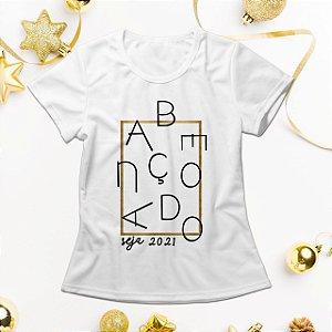 Camisa Personalizada - 2021 Abençoado