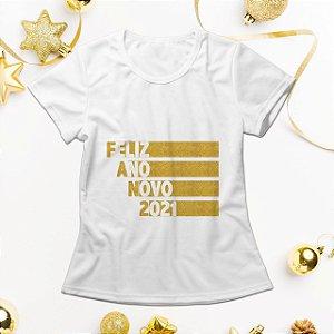 Camisa Personalizada - Feliz Ano Novo 2021
