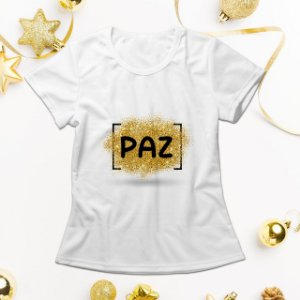 Camisa Personalizada - Paz
