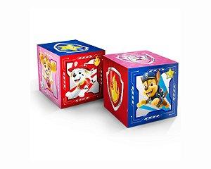 Cubo Decorativo - Patrulha Canina - 3 unidades