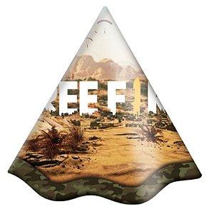 Chapéu de Aniversário - Free Fire - 8 unidades