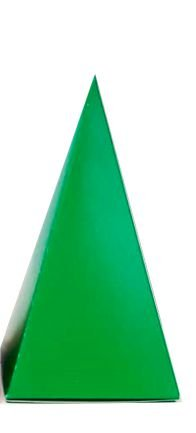 Caixa Cone Verde - 10 Unidades