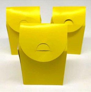 Caixa Milk - Amarelo - 6 unidades