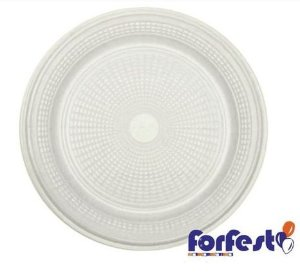 Prato Descartável Premium - Branco - 18cm