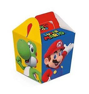 Caixa Sushi Para Lembrancinha - Super Mario Bros - 08 unidades
