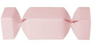 Caixa Bombom com 10 unidades - Rosa Bebê