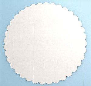 Cake Board MDF - Base para Bolo Branco 20cm