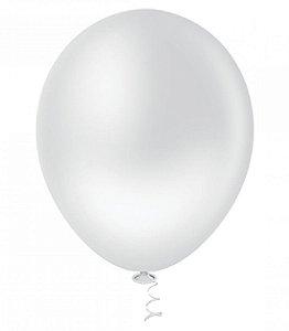 Balão Latex nº9  - Branco - pic pic