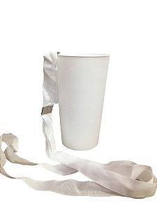 Copo Ecológico - Branco com Tirante -  500ml