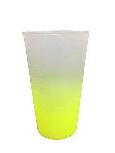 Copo Ecológico - Amarelo Degrade -  500ml