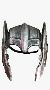 Capacete Prata Thor - Carnaval