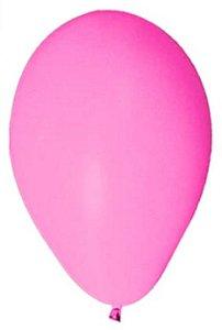 Balão Látex 6,5 Polegadas - Rosa neon - 50 unidades